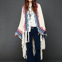 Free People Clothing Boutique > Almost Famous Poncho