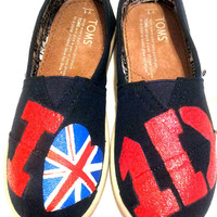 Youth Sized One Direction TOMS