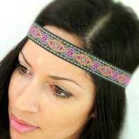 Hippie Headband- Bohemian Headbands mixed colors
