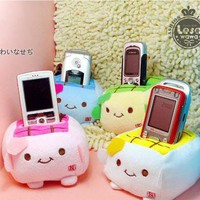 $1.62    Stylish Tofu Pattern Design Mobile Phone Holder China Wholesale - Sammydress.com