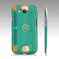 Groovy  Samsung Galaxy S3 Case iPhone iPod  VW aqua by RDelean