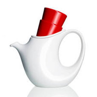 Ceramic Teapot With 2 Cups [GS-TEA795] - &amp;#36;65.00 - GSelect  - Gifts for Men. Unique, Cool Gift Ideas and Presents
