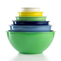 Martha Stewart Collection Mixing Bowls, Set of 6 Melamine - Kitchen - Macy's