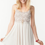 A&#x27;GACI Scallop Lace Swing Dress - New Arrivals