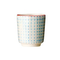 ACHICA | Bloomingville Retro Dot Beaker, Blue