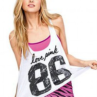 Sequin Yoga Tank - Victorias Secret PINK - Victoria&#x27;s Secret