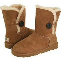 5803-chestnut UGG Bailey Button boots Outlet UK