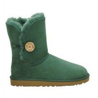 5803 Ever Green UGG Women's Bailey Button Outlet UK