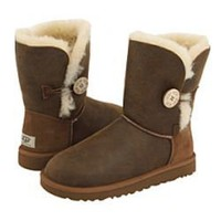 UGG 5803 Bomber Women's Bailey Button Outlet UK