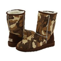 UGG Classic Short Brown Camo 5825 Outlet UK
