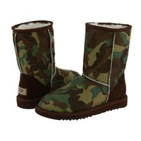 UGG Classic Short Green Camo 5825 Outlet UK