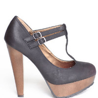 Saydie T-strap Platforms - $54.00 : ThreadSence.com, Your Spot For Indie Clothing & Indie Urban Culture