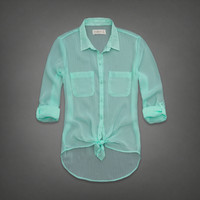 Micah Chiffon Shirt
