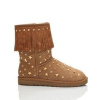Ugg 3044 Jimmy Choo Boots Chestnut Outlet UK