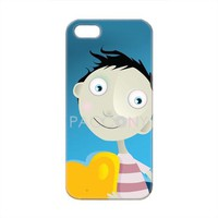 Wooing Boy Pattern Protective Hard Cases for iPhone 5