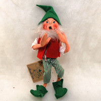 Vintage Annalee Christmas Elf by MyHeirloomCharms on Etsy