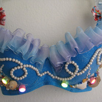 Mermaid Bra // Light Up // Color Changing LEDs
