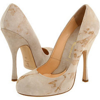 Vivienne Westwood Skyscraper Court (Beige) - Women's Couture Shoes