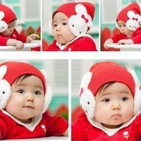 Cute Toddler Baby Winter Wollen Hat Bunny Hat NEW