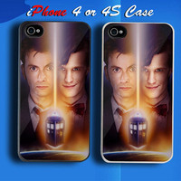 Doctor Who Doctor Wal Custom iPhone 4 or 4S Case Cover from namina