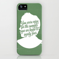 Niall Horan Silhouette  iPhone Case by Holly Ent | Society6