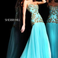Sherri Hill 2973 at Prom Dress Shop