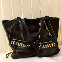 Special Side Zipper Embellished Paillette Handbags : Wholesaleclothing4u.com