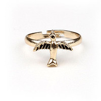 Flying High Midi Ring | Mid FInger Rings at Pink Ice