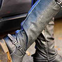 Western Outlaw Boots: Black | Hope's