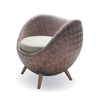 Kenneth Cobonpue La Luna Armchair, Flexform & Contemporary Furniture Atlanta | SwitchModern
