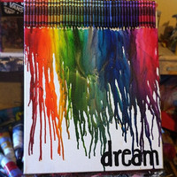 MADE to ORDER- Custom Melted Crayon art