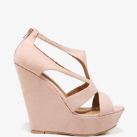Cut-Out Platform Wedges | FOREVER 21 - 2040332556