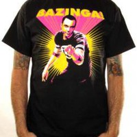 Big Bang Theory, T-Shirt, Bazinga Sheldon