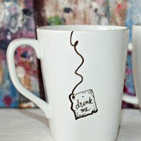 Alice in Wonderland &quot;Drink Me&quot; Mug