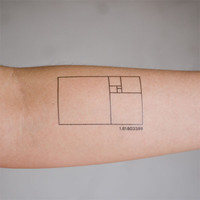 Tattly? Designy Temporary Tattoos — Golden Ratio
