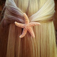 Starfish Hair Barrette from bearinmyhair