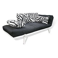 American Furniture Alliance  Zebra Mali Soft/Cushion Futon