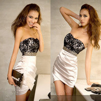 Women Lady Sexy Lace Riv...