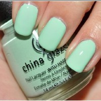 Amazon.com: China Glaze up & Away Collection: Re-fresh Mint #867/80937: Beauty
