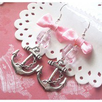 Sailor Suzie, Bow Charm Earrings