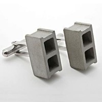 catbird :: shop by category :: Jewelry :: Misc. Jewelry :: Cinderblock Cufflinks