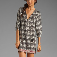 Tolani Tassel Dress in Black/White Elephant from REVOLVEclothing.com