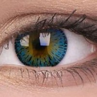 Elegance Blue Colour Contact Lenses | EyesBright.com