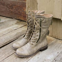 Sweet & Rugged Combat Boots, Sweet Country Inspired Shoes