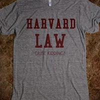 HARVARD LAW-J/K - rockgoddesstees