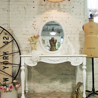 Painted Cottage Shabby Romantic Vanity