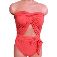 Bathing Suit Medium Wrap-around Swi.. on Luulla