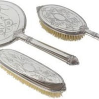 One Kings Lane - David Friedman Silversmiths - Sterling-Silver Vanity Set