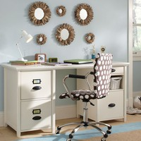 Chatham Large File + Storage Desk + Hutch