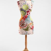 Urban Outfitters - Floral Wood Base Dress Form